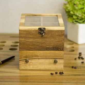 Коробочка С Ящиком Для Хранения Шкатулка Для Мужских Женских Наручных Часов В Подарок На Юбилей Мужу