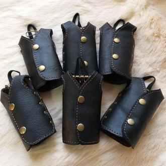 Ключница кожаная на 4 ключа