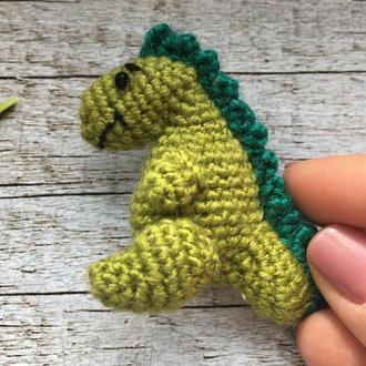 Брошь Динозаврик