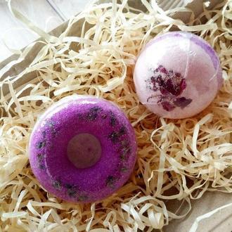 Набор бомбочек для ванн сфера+пончик