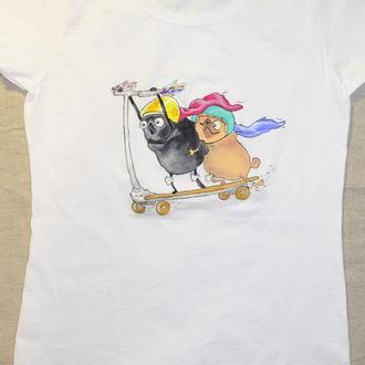 Літня футболка з малюнком