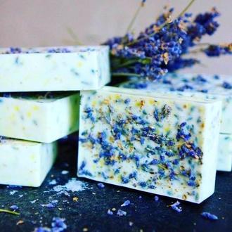 Лавандовое мыло, натуральное органическое мыло, мыло в подарок, мыльный набор