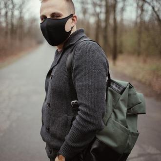 Многоразовая маска Питта, неопреновая маска, черная маска