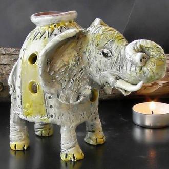 Аромалампа слон подарок для семьи