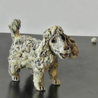 Статуэтка пуделя сувенир собака породы пудель