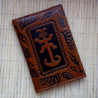 """Обложка на паспорт """"AMULET"""""""