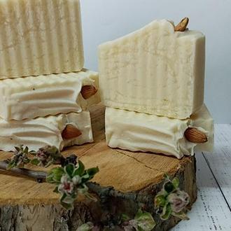 Натуральное шелковое крем-мыло Марципан