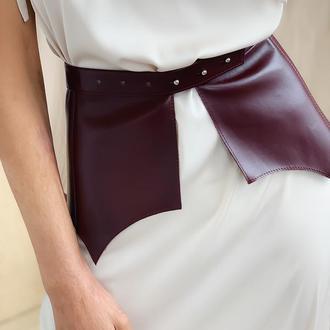 Пояс-баска стильный аксессуар для самых смелых девушек