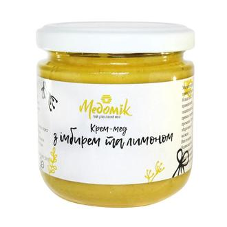 Крем-мёд с имбирём и лимоном 250гр