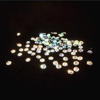 Стразы стеклянные Crystal горячей фиксации, ss20 (5мм)