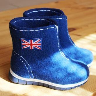 """Детские войлочные ботинки """"Англия"""""""
