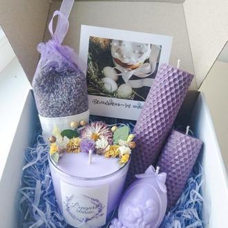 """Ароматный, пасхальный """"Lavender box"""""""