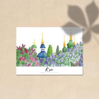 Postcard: Spring in Kyiv