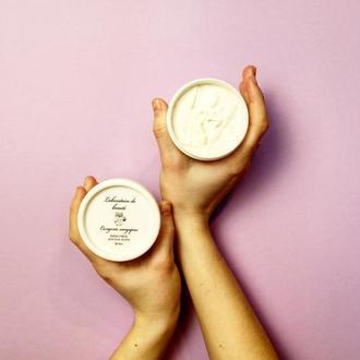Крем-суфле для догляду за тілом та руками «Солодкий мандарин».