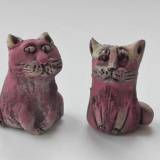 Фигурки котиков пара