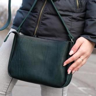 Женская сумочка Надежда  цвет Зеленый