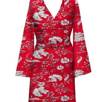 Красное платье ANNA TIM