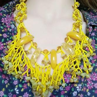Набор (ожерелье и браслет)