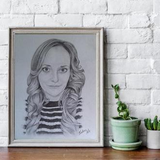 Портрет карандашом, А3