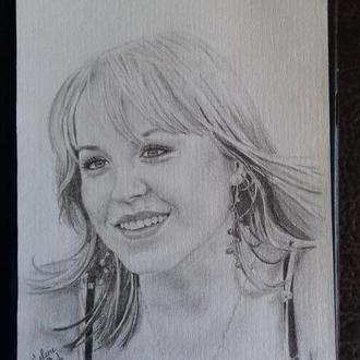 Портрет карандашом, А4