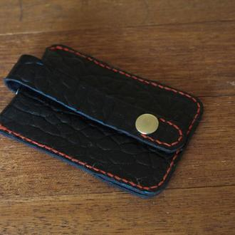 Кожаный футляр для ключей