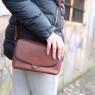 Женская кожаная сумочка Итальянка