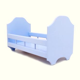 Кровать для кукол Рапунцель ирис