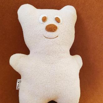 Мишка медвежонок мягкий Miha из флиса