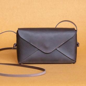 Кожаная сумочка Chicago_brown