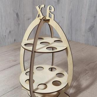 Подставка для на 12 пасхальных яиц