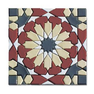 Керамическая мозаичная плитка ручной работы STAR OF MARRAKECH