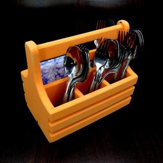 """Подставка для столовых приборов """"Райсо"""" грейпфрут"""