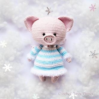 Рожева свинка іграшка / Рожеве порося / Розовый поросёнок игрушка