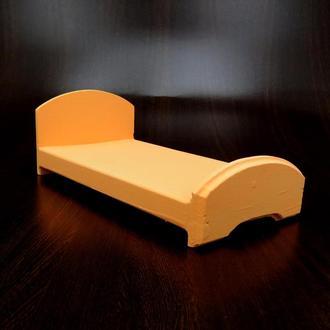 Кровать для кукол Аврора грейпфрут