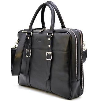 Деловая сумка с ручками TA-4767-4lx TARWA, из натуральной телячьей кожи