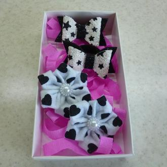 Набор резинок в подарочной коробке