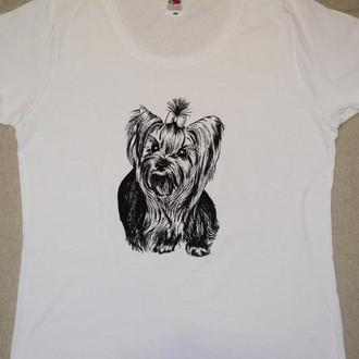 Жіноча футболка з малюнком