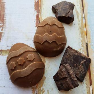 Натуральное мыло «с нуля» «Шоколад и ваниль»