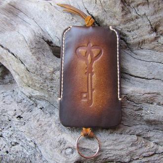 чехлы для ключей,кожаная ключница,подарки