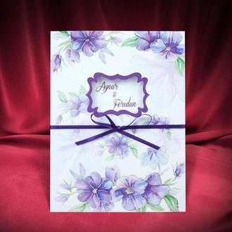 Пригласительные на свадьбу Sedef Cards, арт. 2743