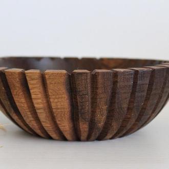 Декоративна ваза для сухофруктів, горішків