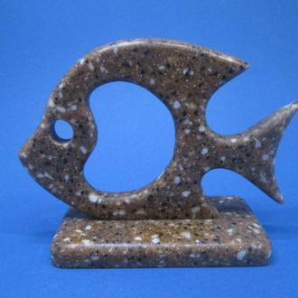 Фігурка, статуетка РИБА Штучний камінь