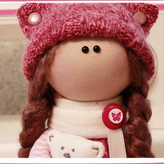 Кукла текстильная ручной работы игровая