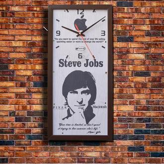"""Стильные настенные часы """"Steve Jobs"""""""