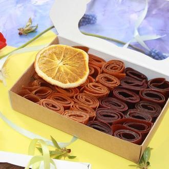 Набор фруктовых натуральных конфет (пастила) 5 вкусов 200 г