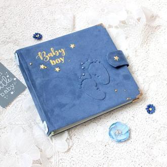 Альбом для новорожденного мальчика , бебибук для малыша , мамин дневник