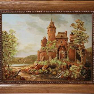 "Картина из янтаря ""Замок"""