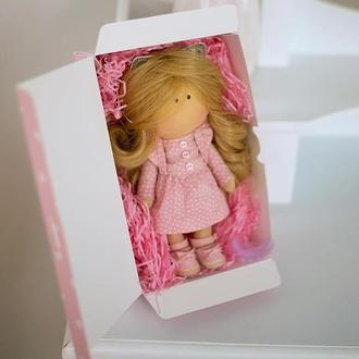 Кукла текстильная интерьерная тыквоголовка