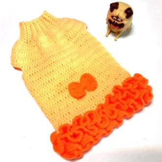 Платье Хризантема для собаки