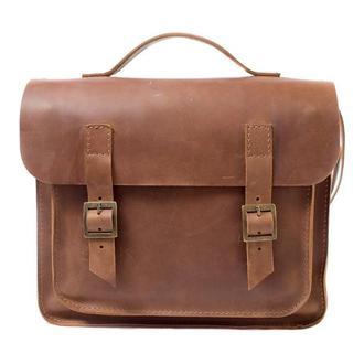 Кожаная сумка-трансформер. 07008/коньяк